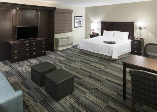 Hampton Inn & Suites Omaha - Downtown: King Suite