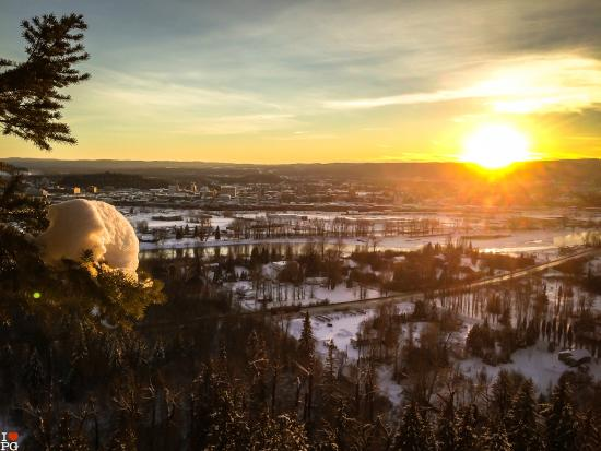 Tourism Prince George: Sunset in Prince George #iloveprincgeorge