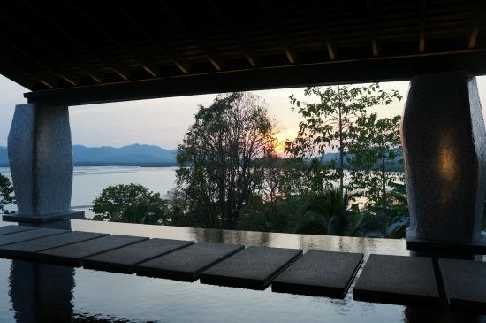 Pa Khlok, Thailand: view from the lobby