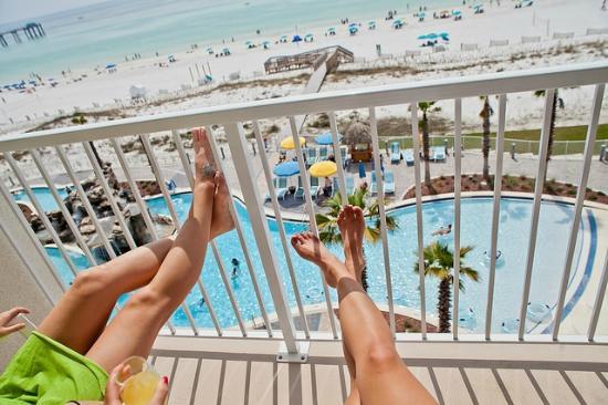 Holiday Inn Resort Fort Walton Beach Balcony Views