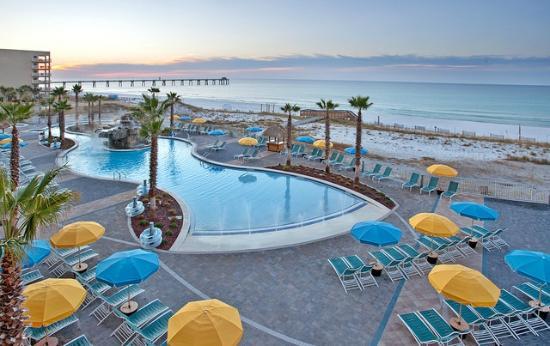Holiday Inn Resort Fort Walton Beach Pool Area
