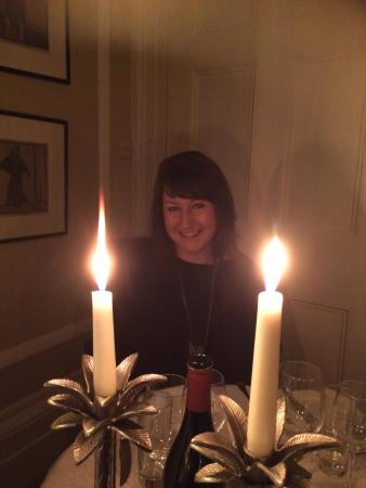 Langar Hall: Dining by candlelight