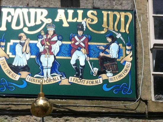 Four Alls Inn: The reason behind the name