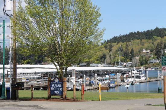 Gig Harbor, WA: Skansie Park in downtown Gig Habor
