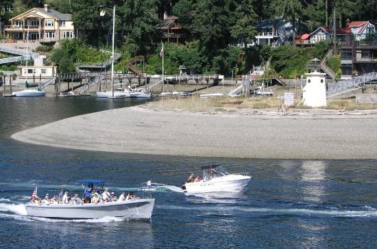 Gig Harbor, WA: Boating in the harbor