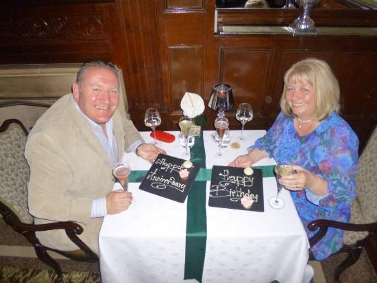 In Chenistons restaurant