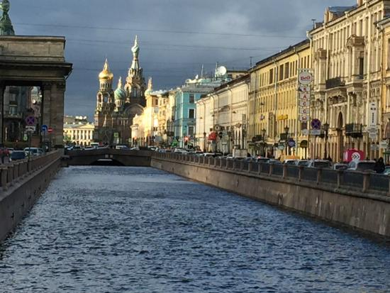 Express to Russia: Griboyedov canal