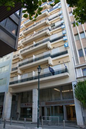 Economy Hotel: Entrance