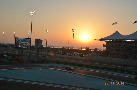 Yas Marina Circuit: the 1