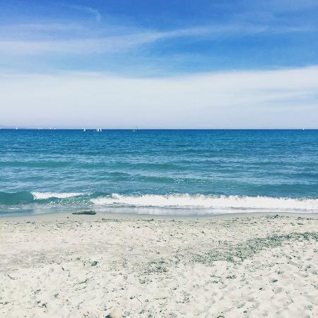 Poetto beach foto di garni vento di sabbia cagliari for Vento di sabbia pittura