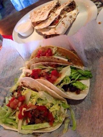 Juan's Flying Burrito: Tacos and quesadillas on Cinco de Mayo.