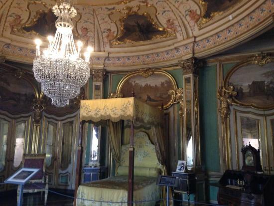 Queluz, Portugal: Quarto Dom Quixote - onde nasceu e morreu D. Pedro I
