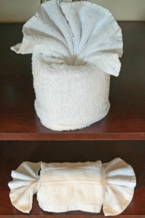 Hampton Inn & Suites Mansfield-South @ I-71: Towels worthy of a 5-star hotel