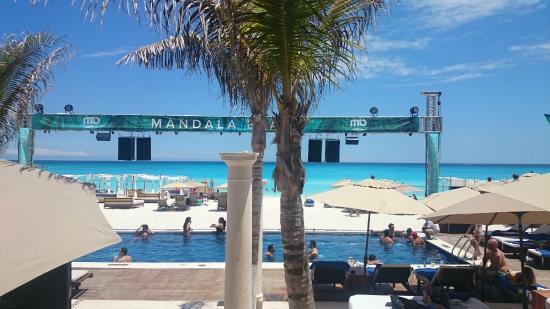Mandala Beach Club Cancun The Best Beaches In World