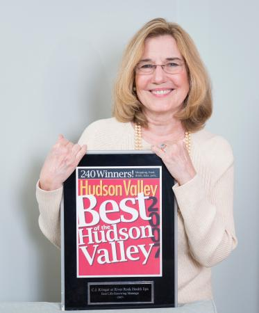 """River Rock Health Spa : Awards 9 Years """"Best of Hudson Valley"""""""