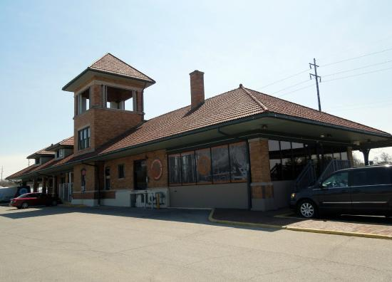 The Filling Station Exterior - old Train Depot