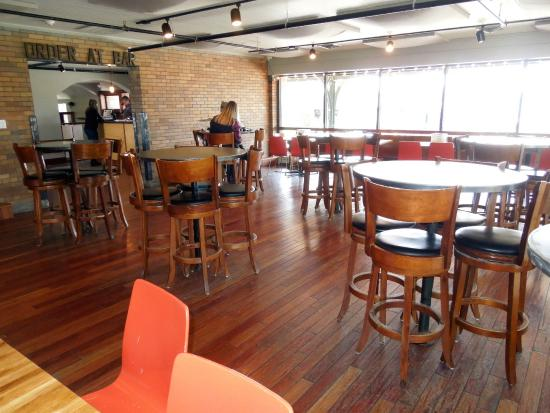 The Filling Station: Inside Dining Area
