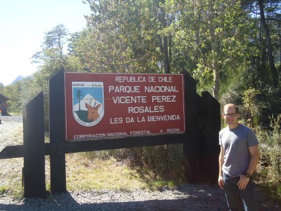 Parque Nacional Vicente Perez Rosales: Entrada