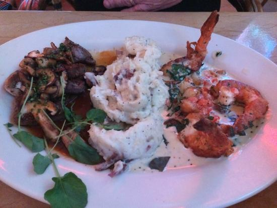 The Cheesecake Factory: Next time I'm getting what he had--so good!