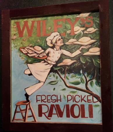 Wiley's Trattoria: fresh picked pasta