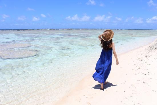 リティディアン ビーチ, 透明度高い綺麗な海