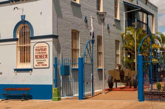 Maryborough Military & Colonial Museum: Entry gates