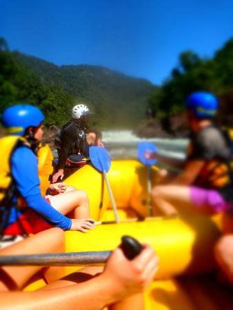 RnR White Water Rafting: Raft, helmets, life jackets