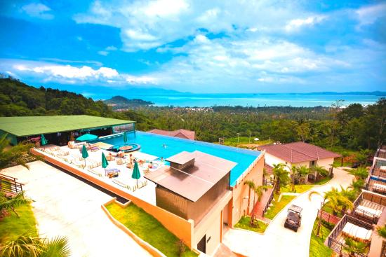 Mantra Samui Resort: View from the top