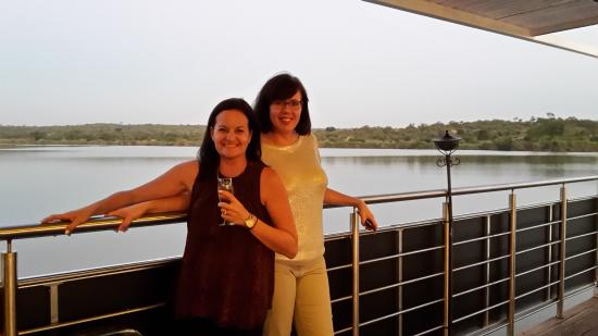 Olifants River Safaris Day Trips: friends enjoying the cruise