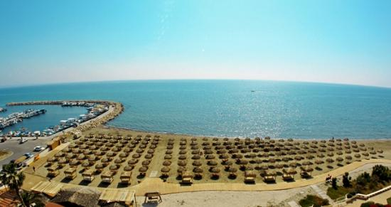 Larnaka City, Cipro: Kastella Beach