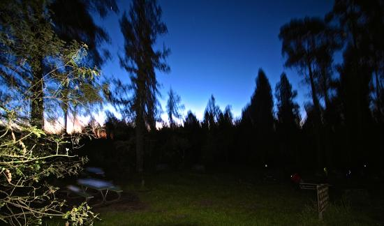 Haleakala National Park Campgrounds / Wilderness Cabins : A Clear Evening at Hosmer