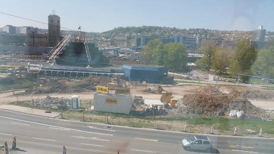 Le Meridien Stuttgart : Вид из окна