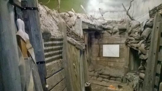 Cheshire Military Museum: The trenches
