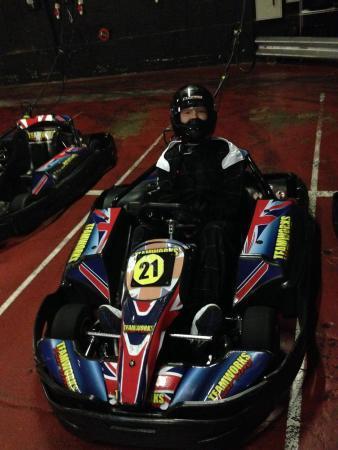 Teamworks Karting Letchworth: me and my mate love karting