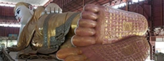 Chaukhtatgyi Buddha: CHAUK HTAT GYI PAGODA