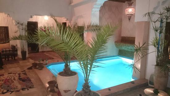 Riad Asna: Innenhof