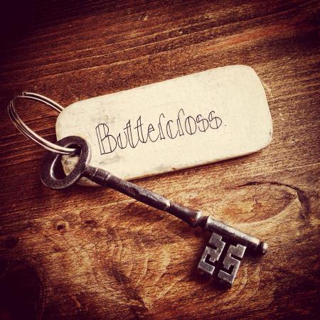 Buttercross Bed and Breakfast: Room key