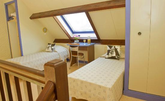 Blainville-sur-Mer, France: Chambre