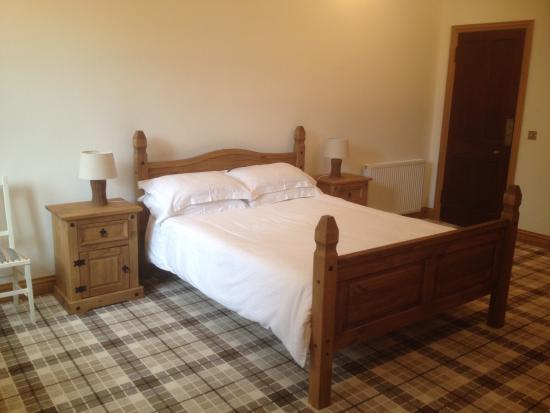 Crossmichael, UK: Comfortable bed