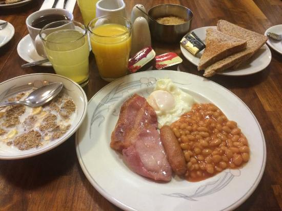 Ruskin Bed & Breakfast: Breakfast