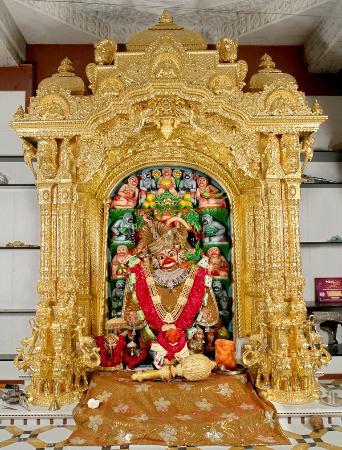 Kashtabhanjan Hanuman Mandir: Shri Kashtabhanjan Hanumanji, Salangpur, Gujarat