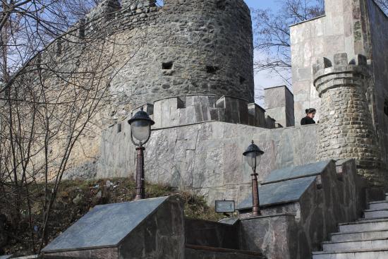 Zaqatala, Aserbajdsjan: Лестница