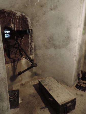 Bunker Mooseum: mitragliatrice