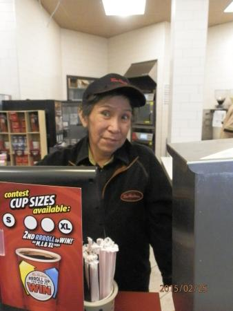 Tim Hortons : Marge - one of the longtimme mmanagers!!!