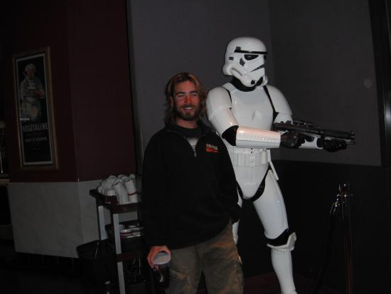 Barton's Club 93 Casino: Mike and Storm Trooper