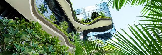 PARKROYAL on Pickering: Zero-energy skygardens