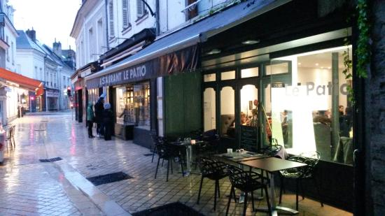 Restaurant Picture Of Le Patio Amboise Tripadvisor