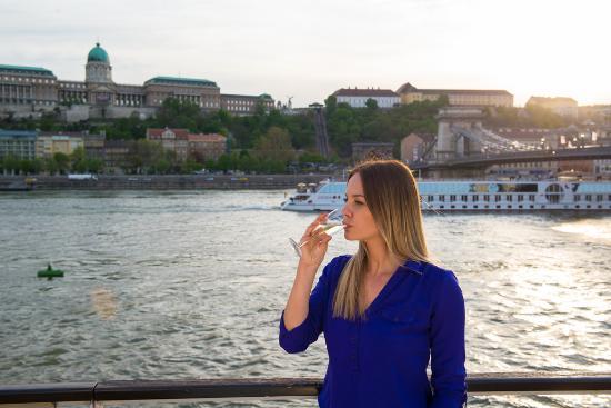 Hungaria Koncert: Welcome Drink:glass of champagne- Dinner & Cruise - Duna Palota