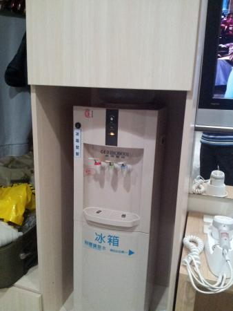 i-Deal Hotel: in-room hot and cold water dispenser