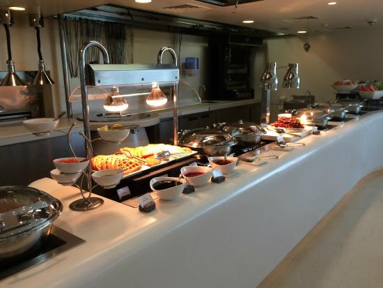 Admirable Origin Breakfast Buffet Picture Of Yas Hotel Abu Dhabi Interior Design Ideas Ghosoteloinfo